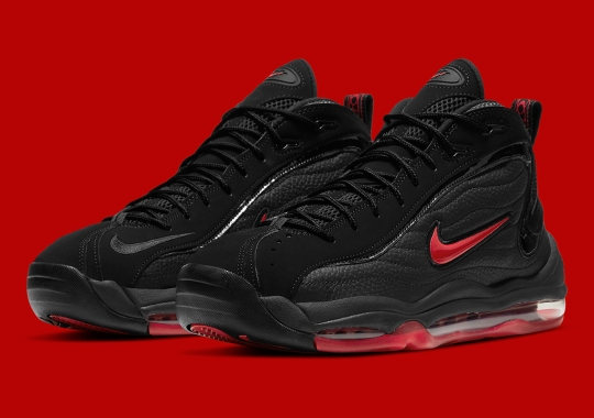 """The Nike Total Max Uptempo Is Returning In """"Bred"""""""