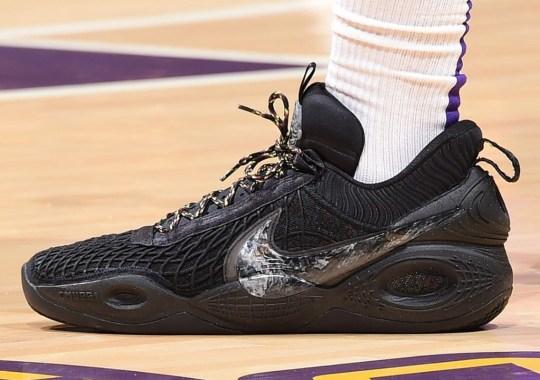 Anthony Davis Debuts The Nike Cosmic Unity Basketball Shoe