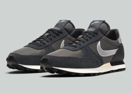 The Nike Daybreak Type Ditches The Wild Colors In Favor Of A Grey Palette