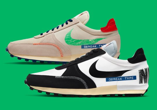 """Nike's """"Labelmaker"""" Pack Extends To Two Daybreak Type Colorways"""