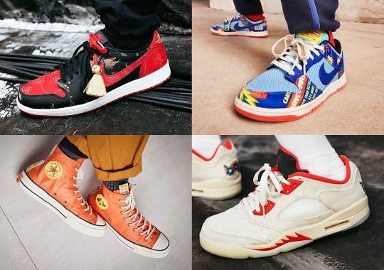 Nike's Chinese New Year Collection For 2021 Includes Dunks, Air Jordan 1s, And More