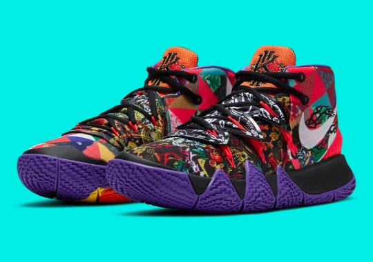 """Kyrie Irving's Nike Kybrid S2 To Drop In A Multicolored """"Chinese New Year"""""""