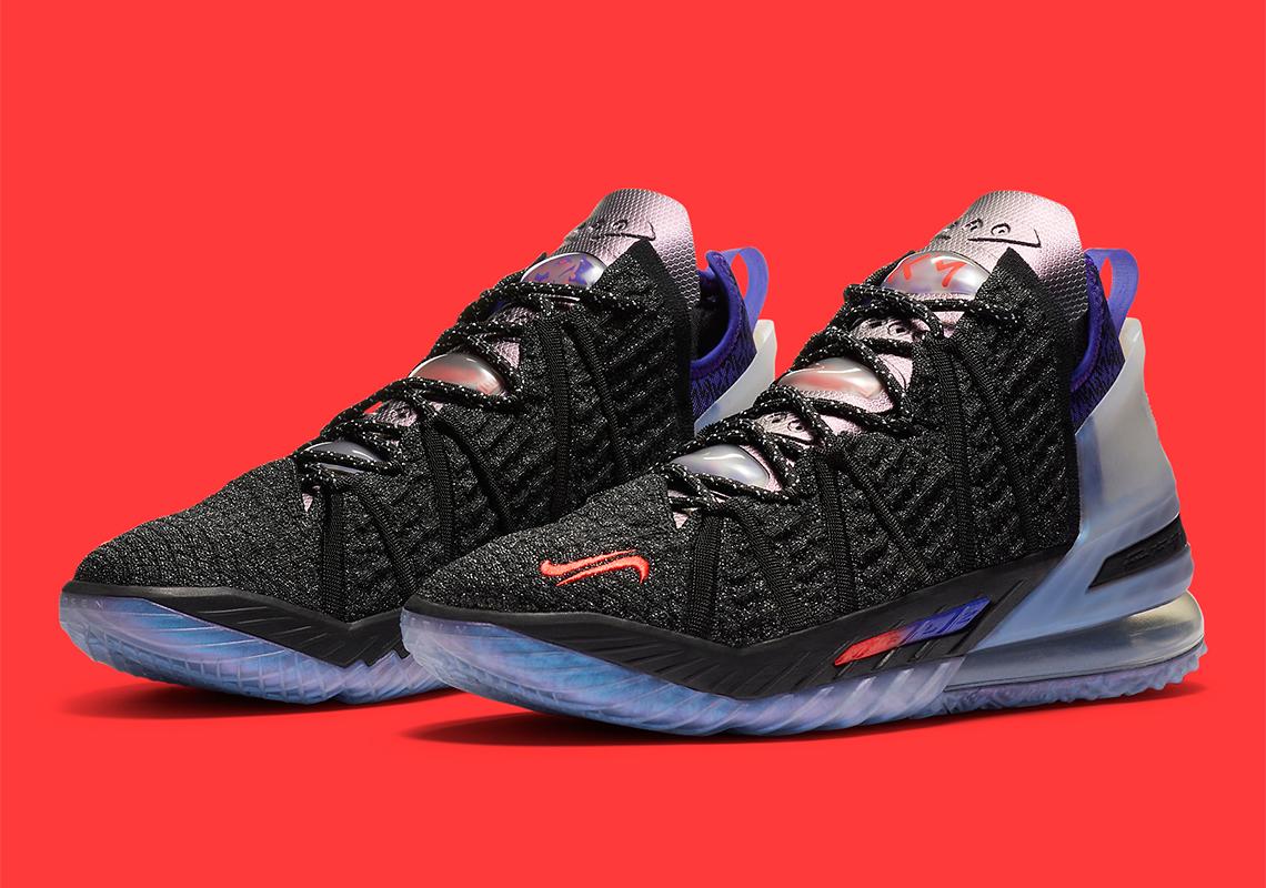 Nike LeBron 18 Kylian Mbappe DB8148-001 Release Date | SneakerNews.com
