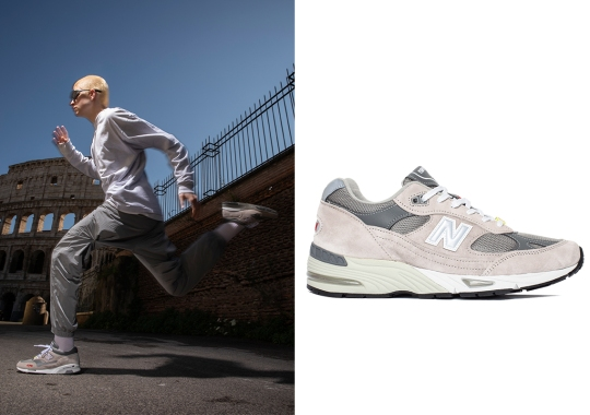 """One Block Down Reflects Italy's Impact On New Balance Sub-culture With The 991 And 1500 In """"Marble Grey"""""""