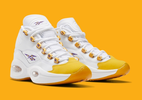 "Reebok Question Mid ""Yellow Toe"" To Finally Release On December 31st"