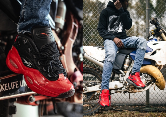 "Reebok I3 Motorsports Kicks Off With ""Street Sleigh"" Collection Featuring The Question And Classic Leather Legacy"