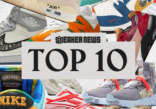Ranking The Top 10 Sneakers Of 2020