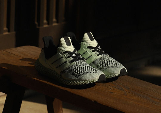 "SNS Reminisces On Past Hits With The adidas Ultra 4D ""Green Tea-Time"""