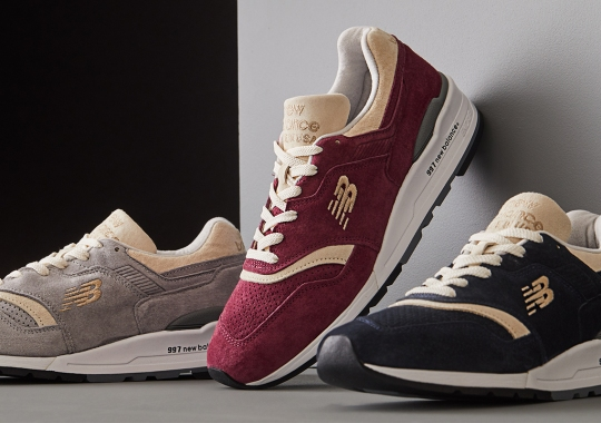 """Todd Snyder And New Balance's """"Triborough 997"""" To Launch In Three Colorways"""