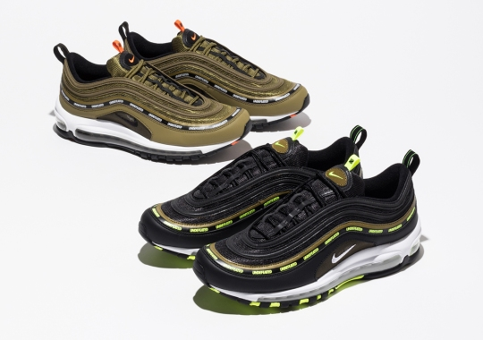 Undefeated Revisits Its Celebrated Nike Air Max 97 From 2017 With Updated Colorways
