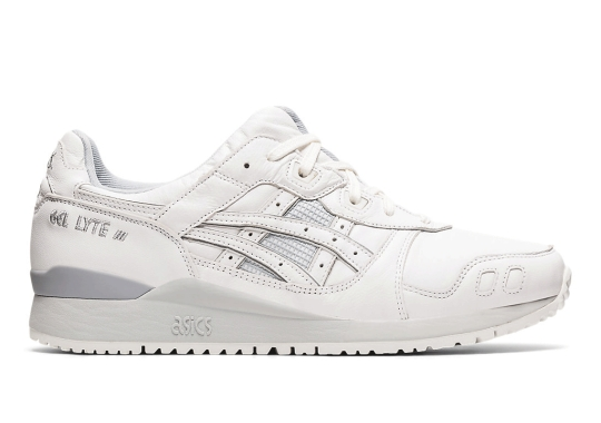 "The ASICS GEL-Lyte III Grabs Hold Of A ""Neutral Grey"" Look"