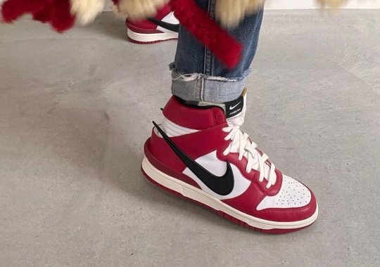 """Yoon Ahn Reveals A """"Chicago"""" Colorway Of Her AMBUSH Dunks"""