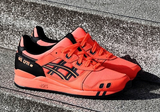 "The Split-Tongue ASICS GEL-Lyte III Appears In ""Sunrise Red"""