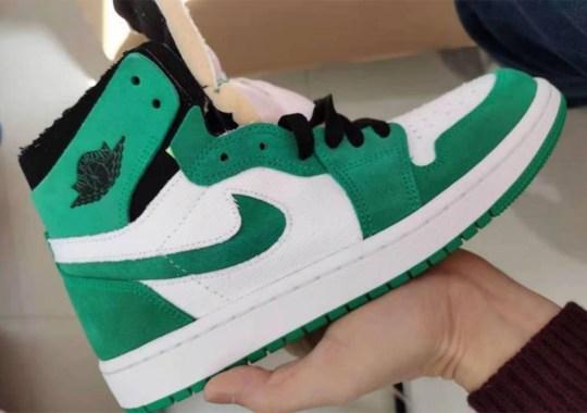 "First Look At The Air Jordan 1 Zoom CMFT ""Stadium Green"""