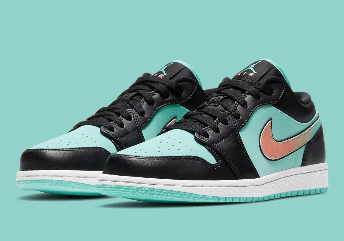 Air Jordan 1 Low Tropical Twist Black CK3022-301 | SneakerNews.com