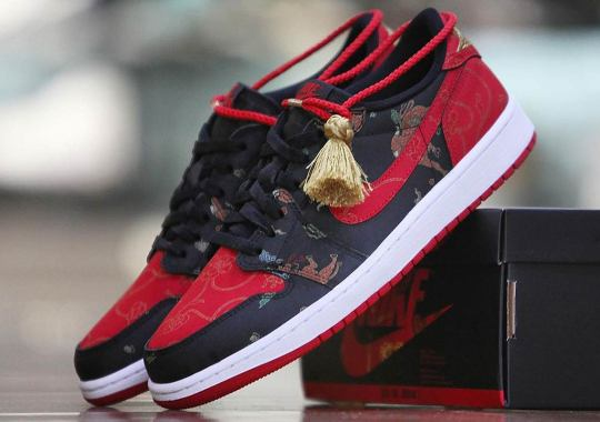 """The Air Jordan 1 Low """"Chinese New Year"""" Is Limited To 8500 Pairs"""
