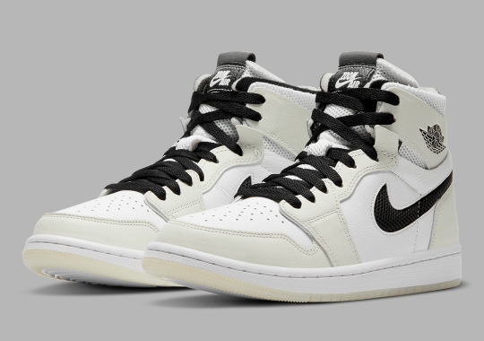 "An Alternate Air Jordan 1 Zoom CMFT ""Sail"" Appears With White Interior Lining"
