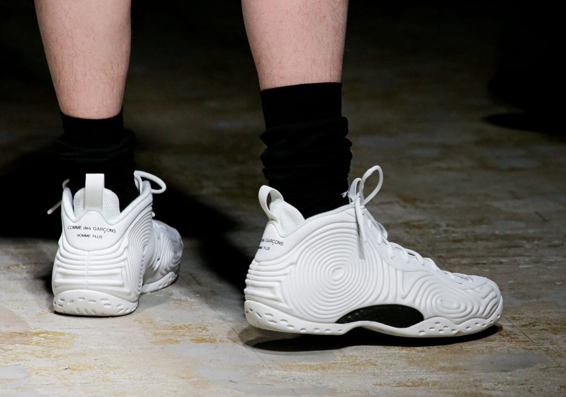 COMME des GARCONS HOMME PLUS Nike Foamposite One 2021 ...