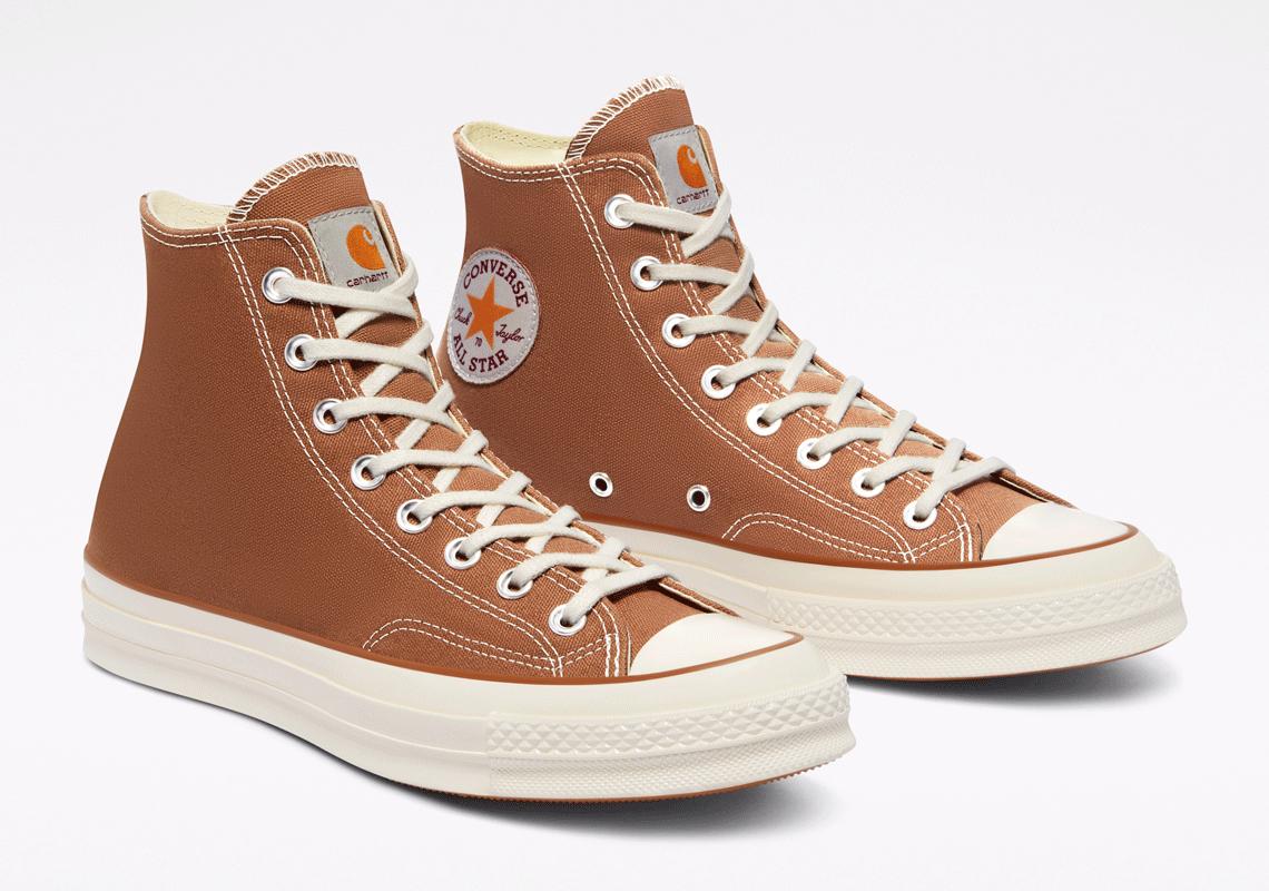 Carhartt Converse Chuck 70 Brown Green Camo | SneakerNews.com