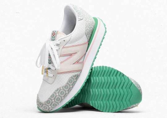 Casablanca To Debut The Stripped Down New Balance 237