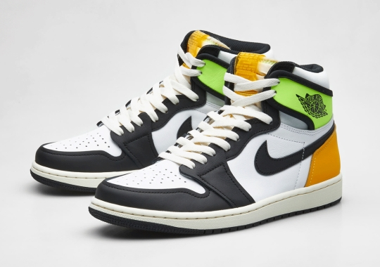 "Air Jordan 1 Retro High OG ""Volt Gold"" Releases This Saturday In Europe"