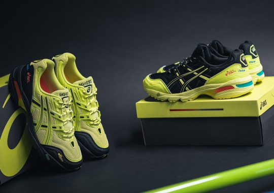IAB Studio Inverts Yellow And Black On Its ASICS GEL-1090 Pack