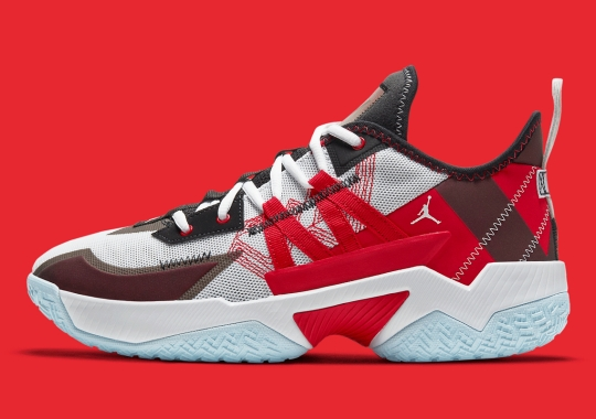 The Jordan Westbrook One Take II Rearranges Classic Bulls Colors