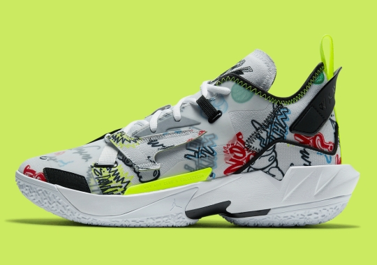"The Jordan ""Why Not?"" Zer0.4 Appears With Graffiti Illustrations"