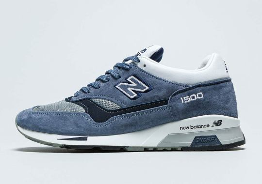 "The New Balance 1500 Dresses Up In A Cold ""Steel Blue"""