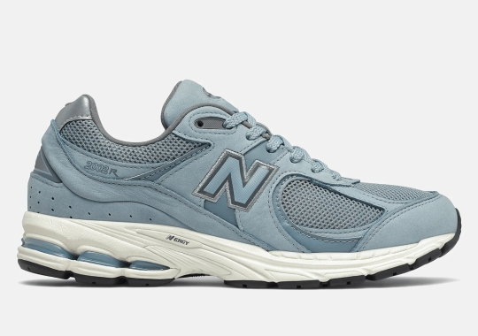 The New Balance 2002R Is Soon Dropping In A Light Blue Suede