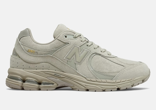 The New Balance 2002R Goes Tonal In Stucco Tan