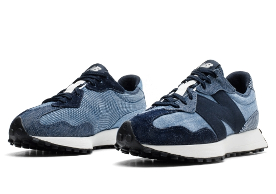 "Shades of ""Indigo"" Cover This Materials-Friendly New Balance 327"