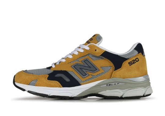The New Balance 920 Appears In A New Mustard Yellow Colorway