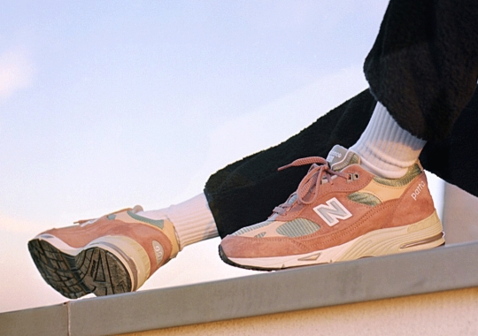 "Patta's ""Dusty Pink"" New Balance 991 Collaboration Releases On January 22nd"