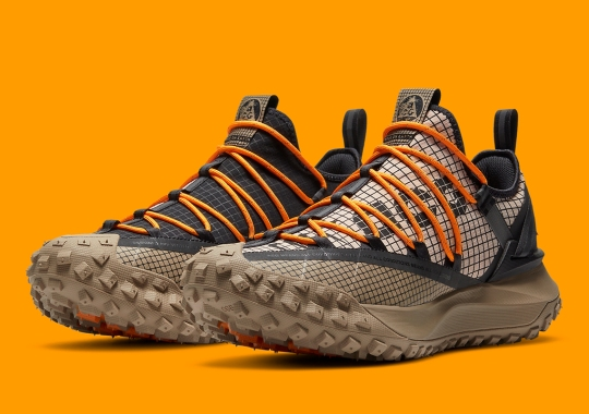 """The Nike ACG Mountain Fly Low Available Now In """"Fossil"""""""