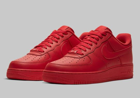 Nike Is Dropping An All-Red Air Force 1 Low Soon