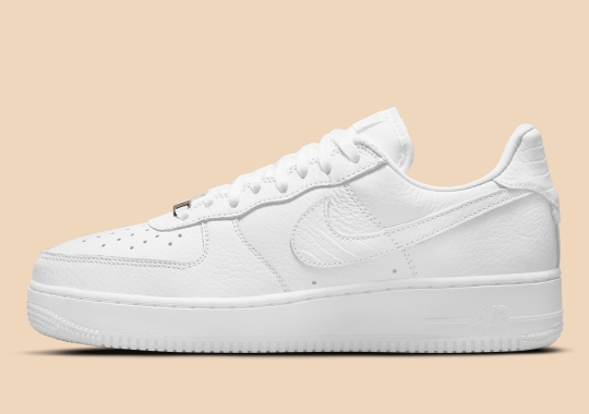 Nike Air Force 1 Craft Updates With Snakeskin