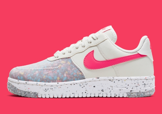 """A Women's Nike Air Force 1 Crater Reappears """"Siren Red"""""""