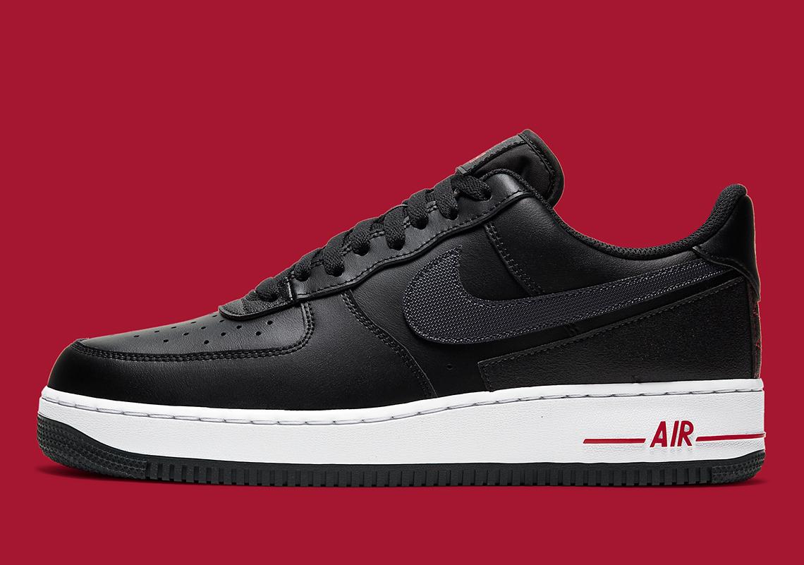 Nike Air Force 1 Technical Stitch Black DD7113-001   SneakerNews.com