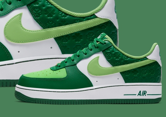 "Nike Air Force 1 Low ""St. Patrick's Day"" Arriving In March"