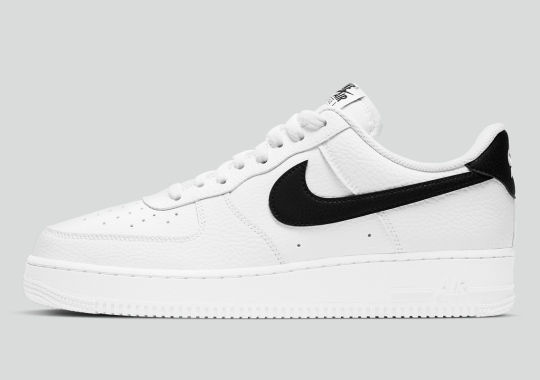 "The Nike Air Force 1 Low Is Now Available In Classic ""White/Black"""