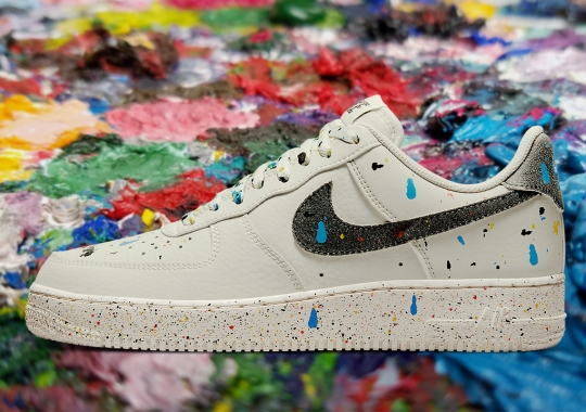 Nike Covers The Air Force 1 Low In Paint Drippings