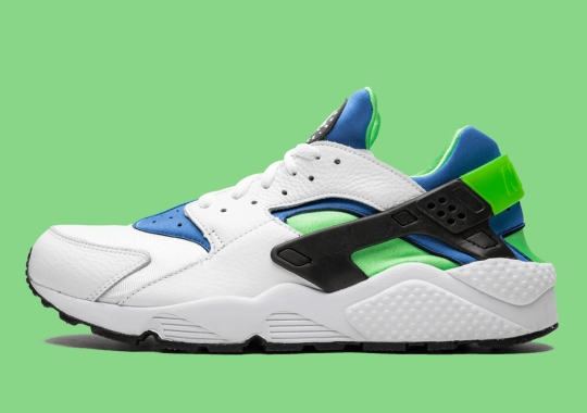 "Nike To Honor 30th Anniversary Of The Air Huarache With ""Scream Green"" Re-release"