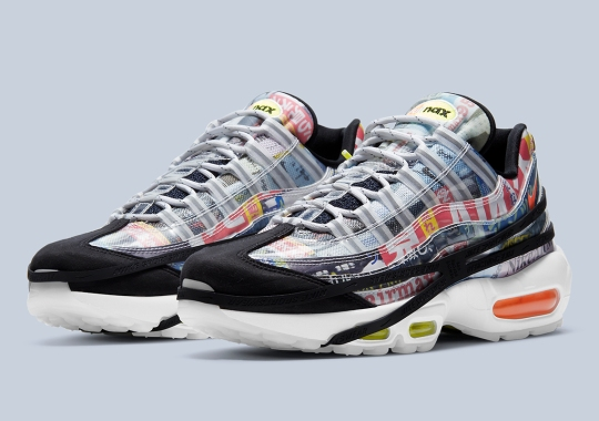 This Nike Air Max 95 Is Covered With Vintage Asian Magazine Clippings