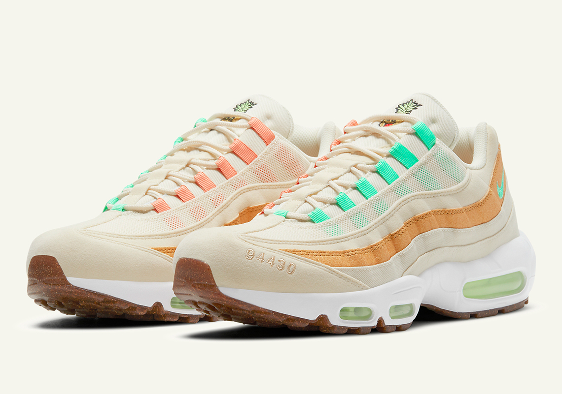 Inducir voz haz  Nike Air Max 95 Pineapple CZ0154-100 Release Info | SneakerNews.com