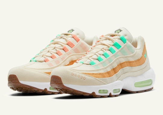 "The Nike Air Max 95 ""Pineapple"" Adds Tropical Flavors And Colors"