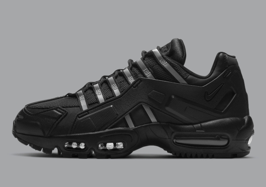 The Nike Air Max 95 NDSTRKT Appears In A Steathly Stance