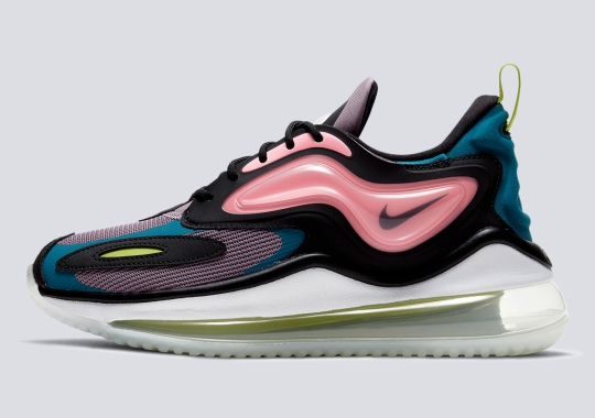 Pink And Teal Cover This Women's-Exclusive Nike Air Max Zephyr