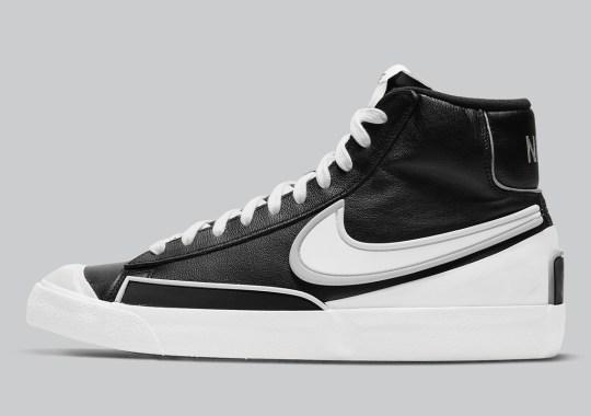 "Simple ""Black/White"" Lands On The Nike Blazer Mid Infinite"