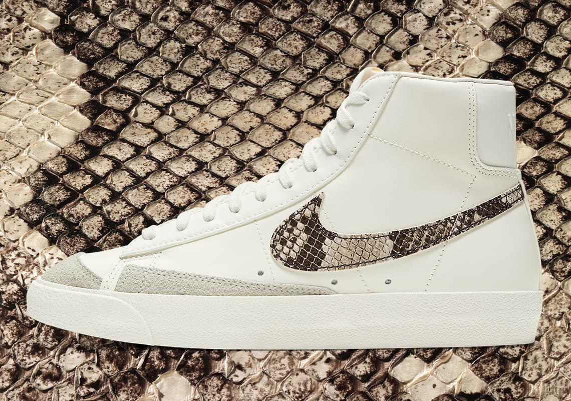 Nike Blazer Mid WMNS Snakeskin DA8736-100 Release Info ...